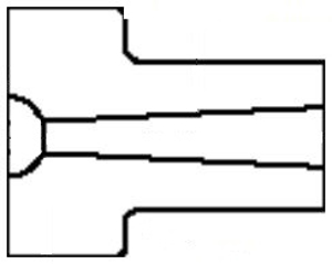 Picture for category Sprue Bushing U Series 1/2 and 3/4 Radius Custom